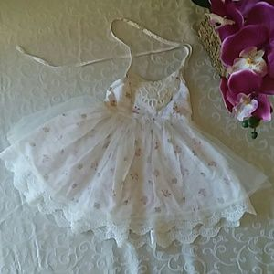 Wannabe Dollcake white flower print dress